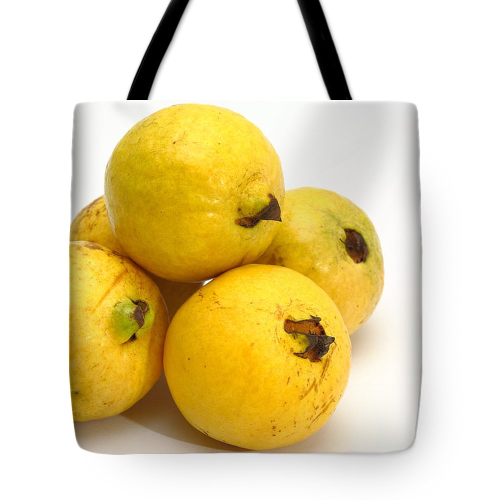 Guava Tote Bag featuring the photograph Guava Fruits by Gaspar Avila
