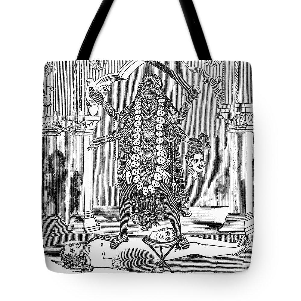 Hindu Goddess Kali Tote Bag