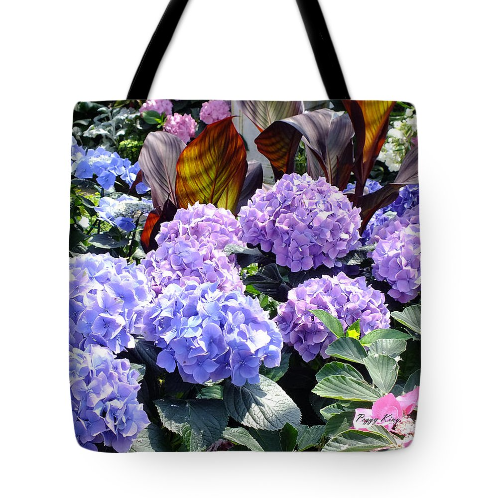 Nature Tote Bag featuring the photograph Hydrangea by Peggy King
