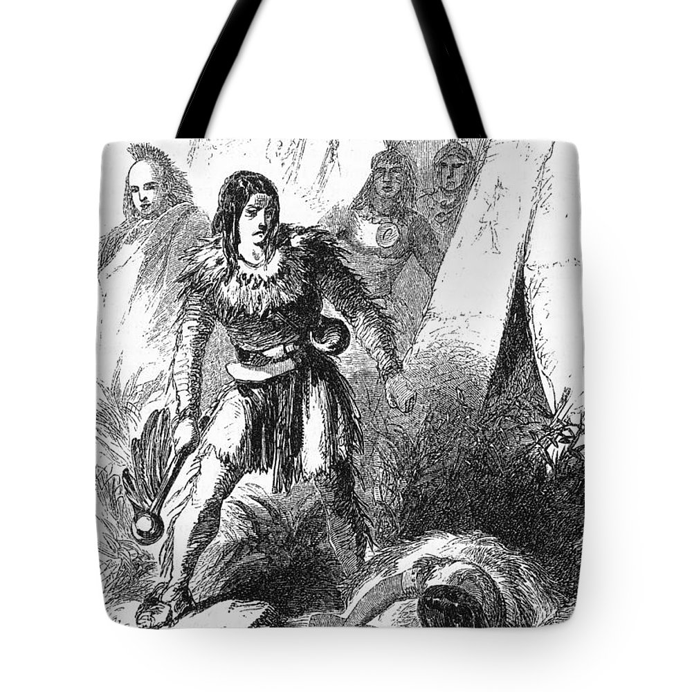 19th Century Tote Bag featuring the photograph James P. Beckwourth by Granger