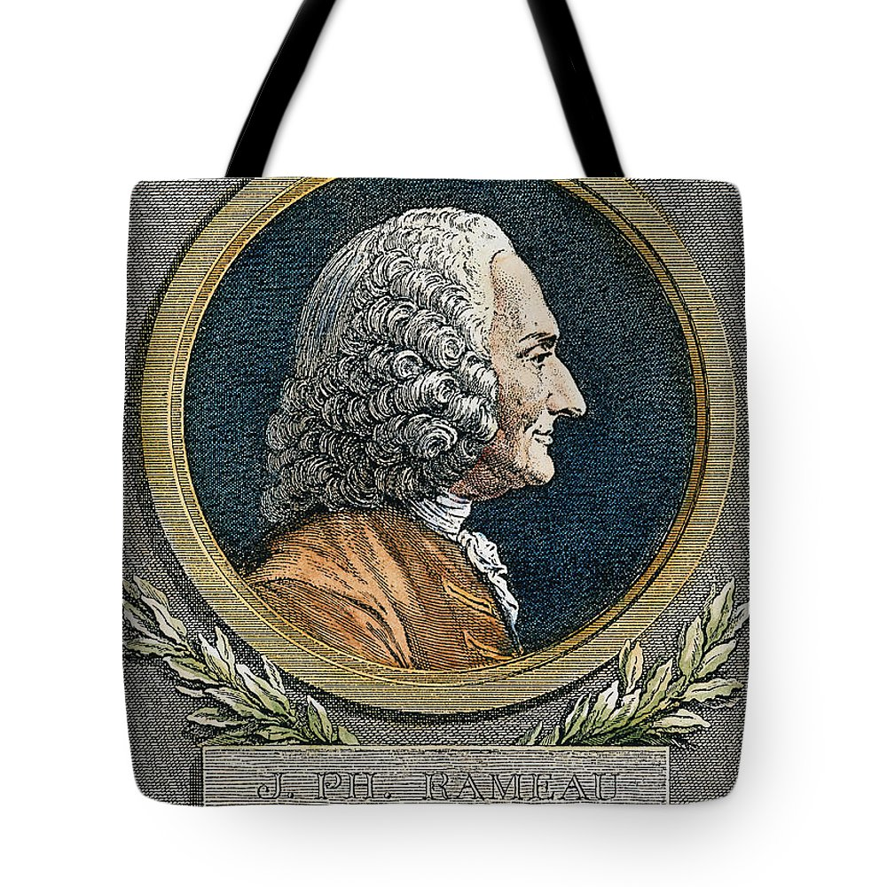 18th Century Tote Bag featuring the photograph Jean Philippe Rameau by Granger