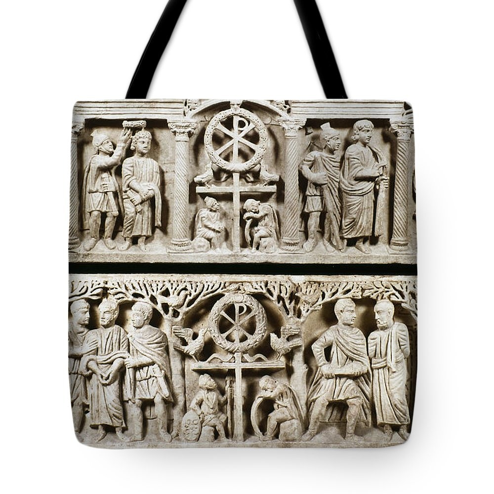 4th Century Tote Bag featuring the photograph Jesus: Passion by Granger