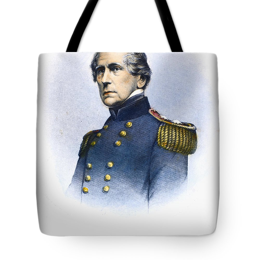 19th Century Tote Bag featuring the photograph John Ellis Wool (1784-1869) by Granger