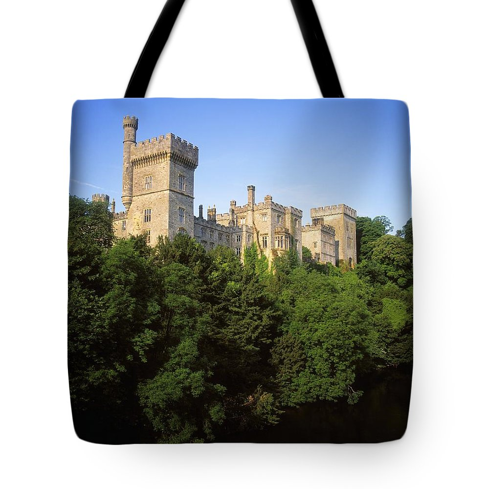 Archaeology Tote Bag featuring the photograph Lismore Castle, Co Waterford, Ireland by The Irish Image Collection