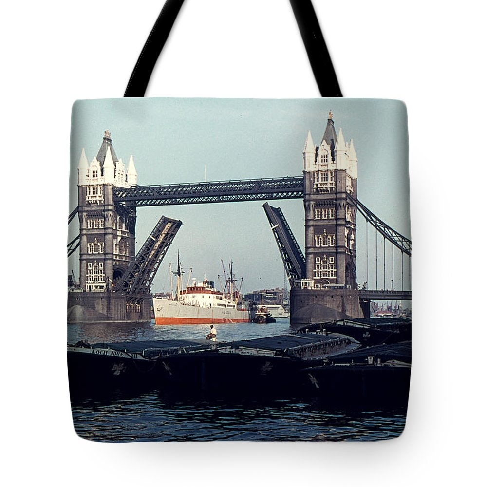 20th Century Tote Bag featuring the photograph London Tower Bridge by Granger