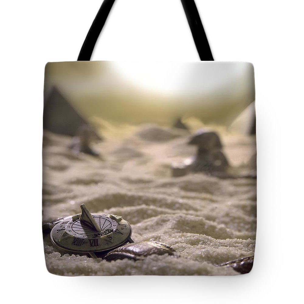 Lost Time Tote Bag featuring the photograph Lost Time by Mike McGlothlen