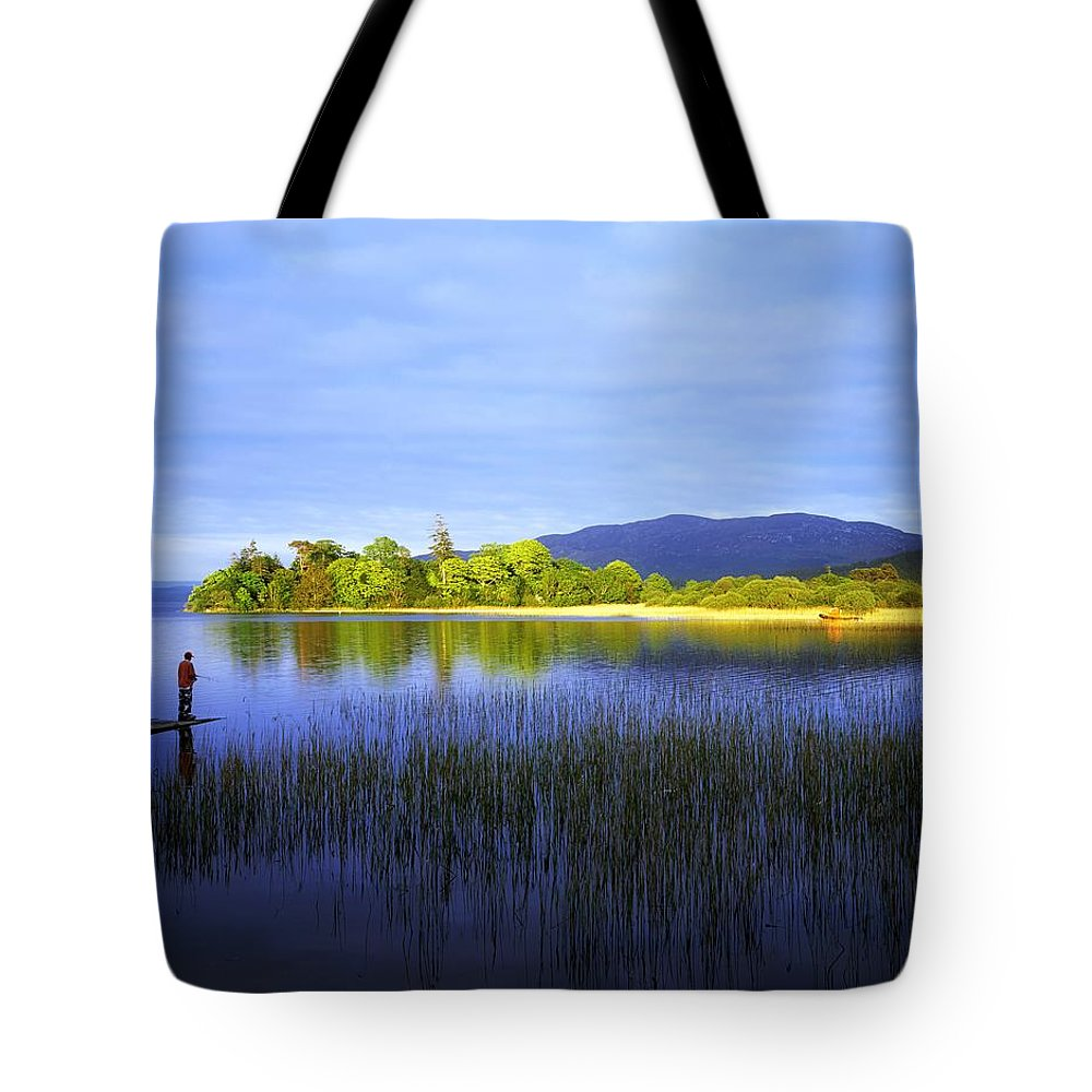 Boy Tote Bag featuring the photograph Lough Gill, Co Sligo, Ireland by The Irish Image Collection
