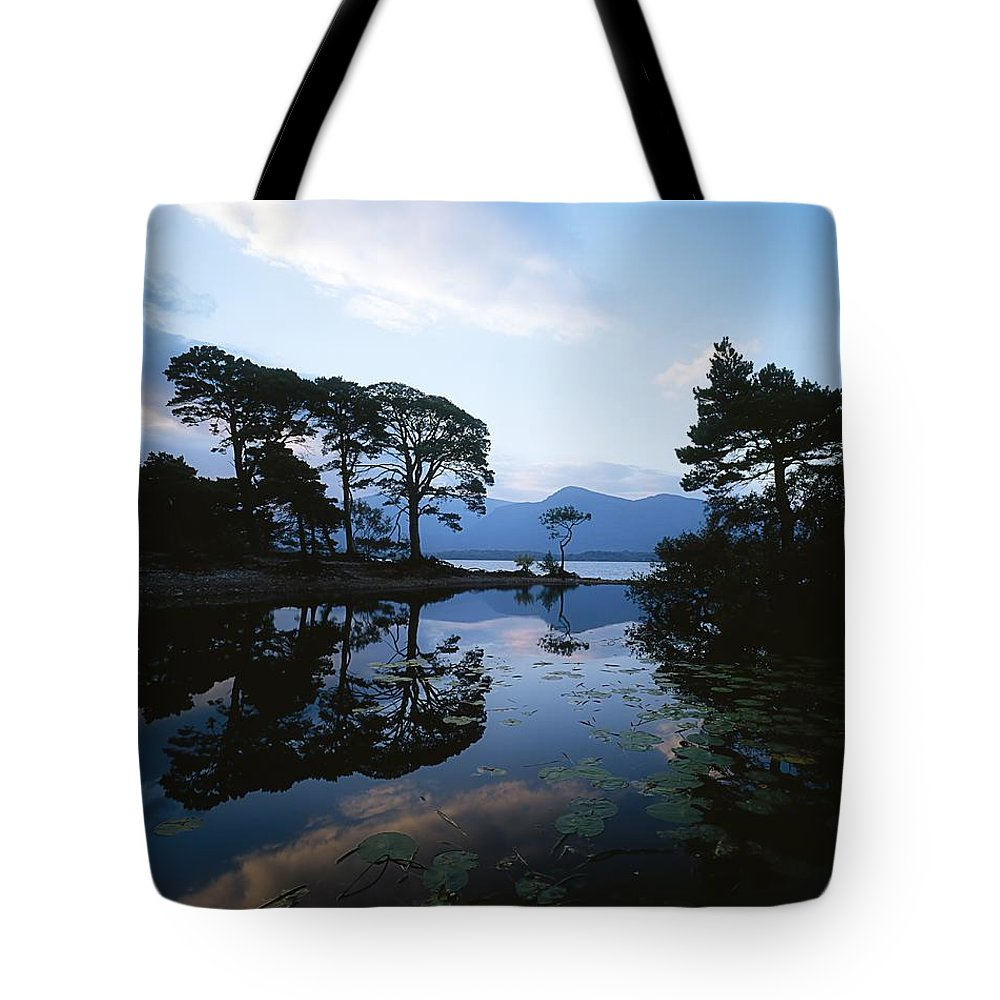 Co Kerry Tote Bag featuring the photograph Lough Leane, Lakes Of Killarney by The Irish Image Collection