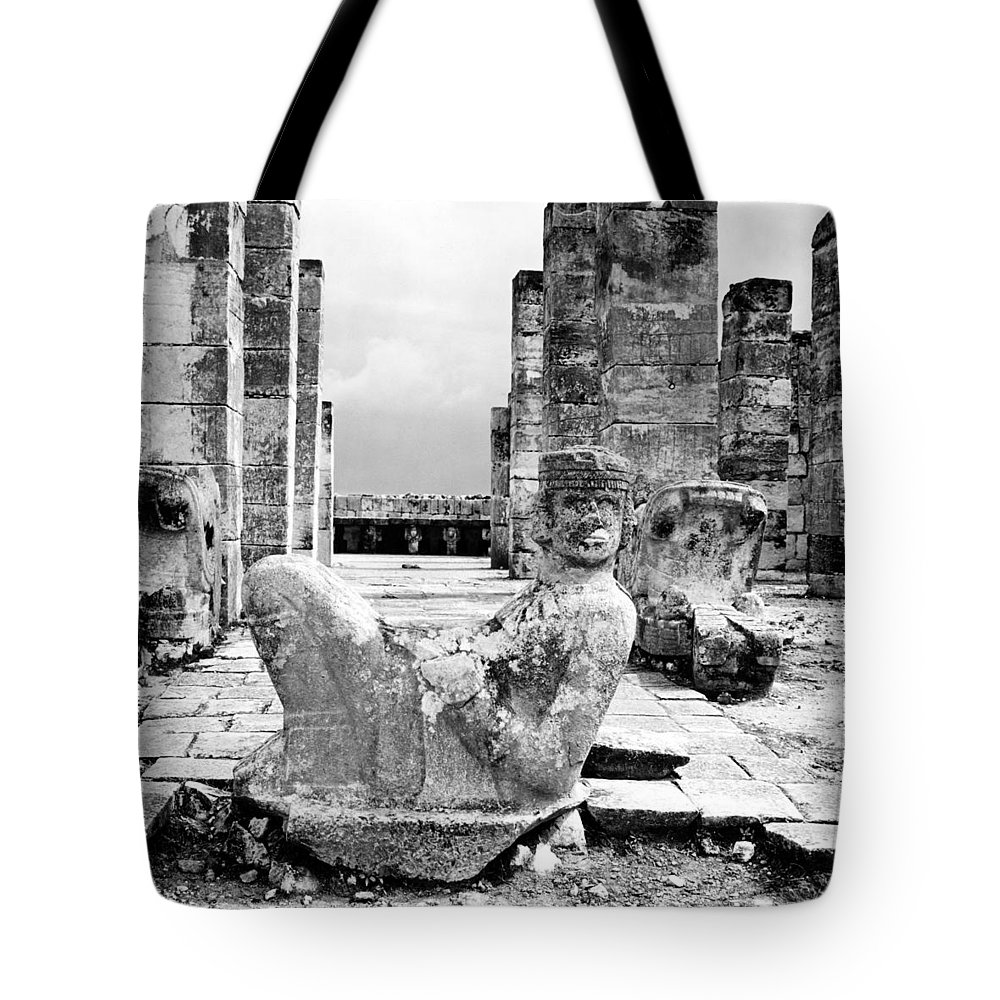 1970s Tote Bag featuring the photograph Mexico: Chichen Itza by Granger