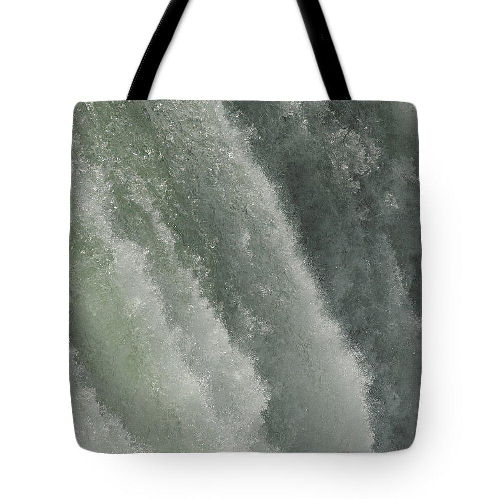 Niagara Falls Tote Bag featuring the photograph Niagara Falls, American Side by Tim Laman