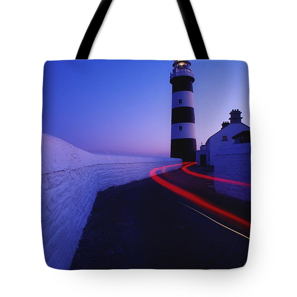 Architecture Tote Bag featuring the photograph Old Head Of Kinsale, Kinsale, County by Richard Cummins