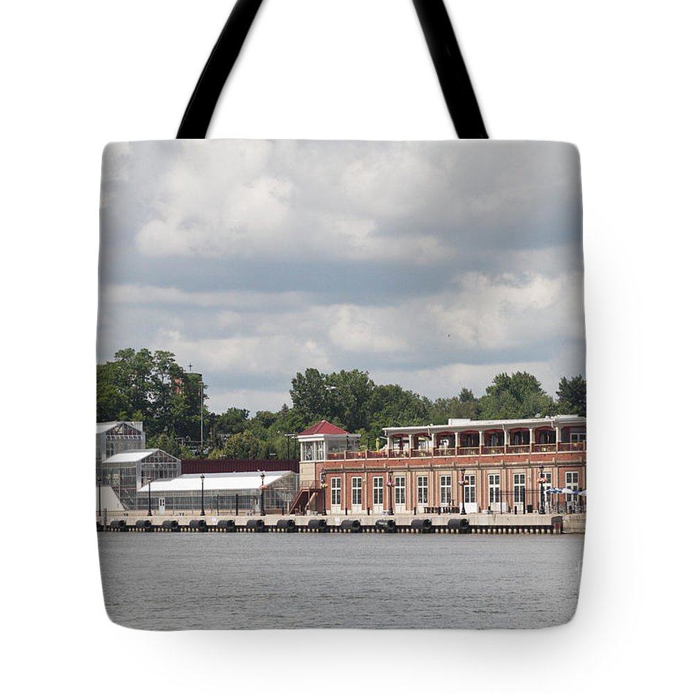 Tote Bag featuring the photograph Port Of Rochester by William Norton