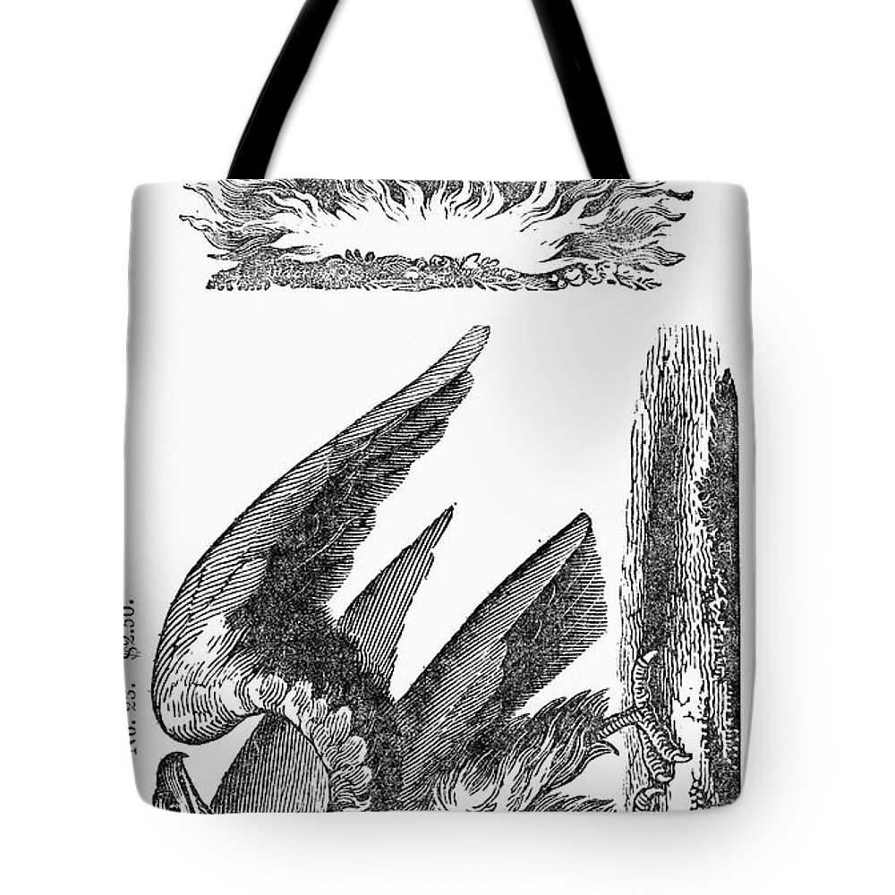 1825 Tote Bag featuring the photograph Printers Cut, 1825 by Granger
