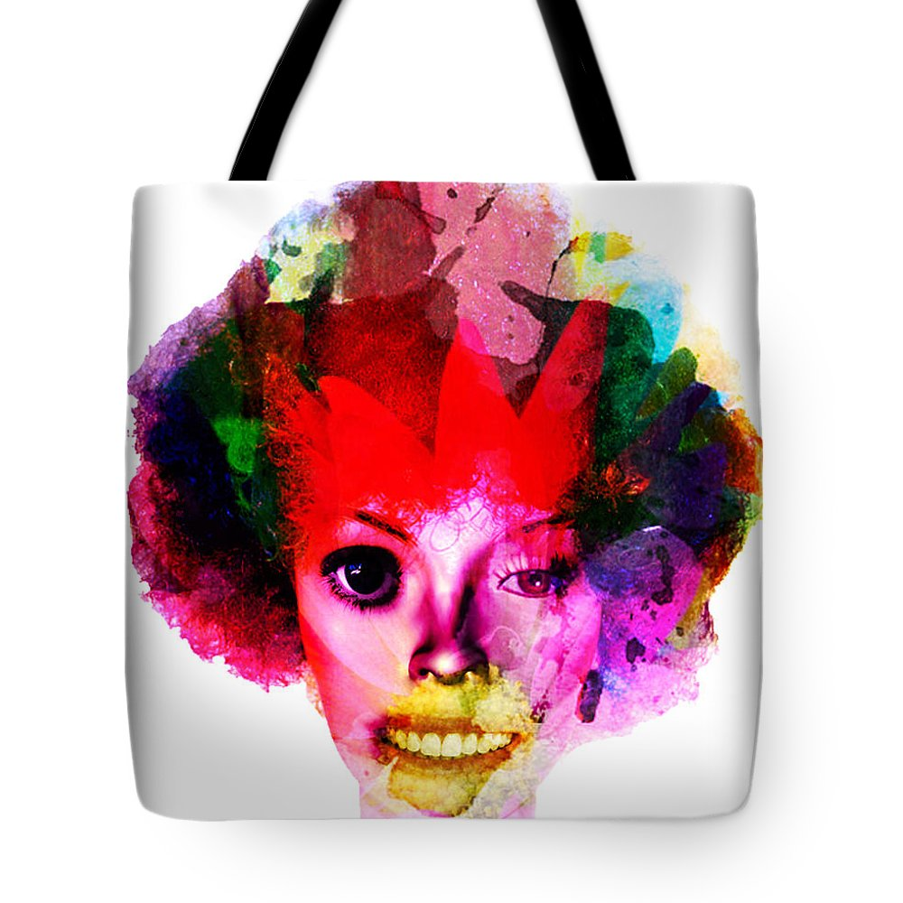 Clown Photographs Tote Bag featuring the photograph Relationship Of A Clown by The Artist Project