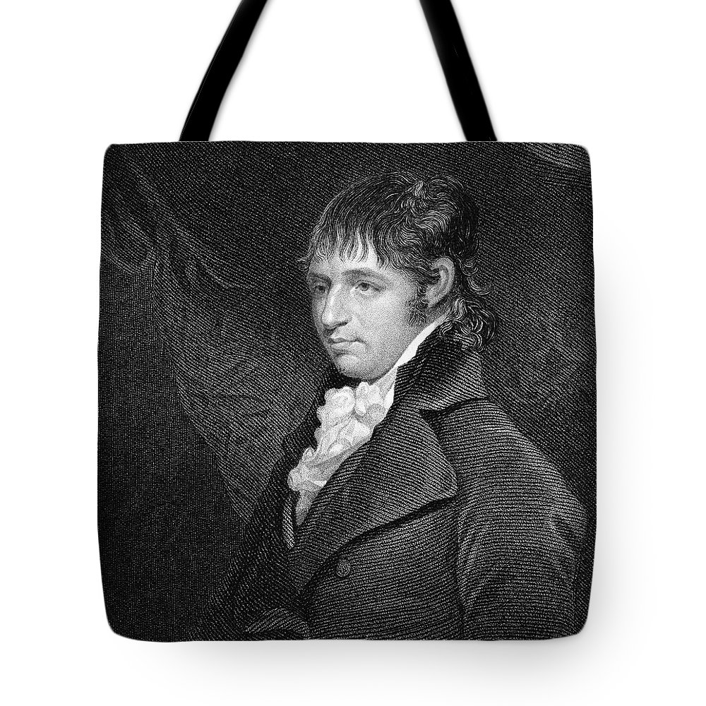 18th Century Tote Bag featuring the photograph Richard Porson (1759-1808) by Granger