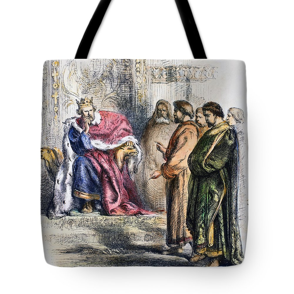 13th Century Tote Bag featuring the photograph Shakespeare: King John by Granger