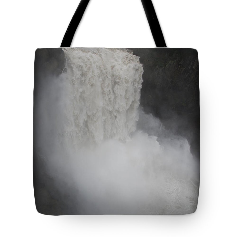 Falls Tote Bag featuring the photograph Snoqualmie Falls by Michael Merry