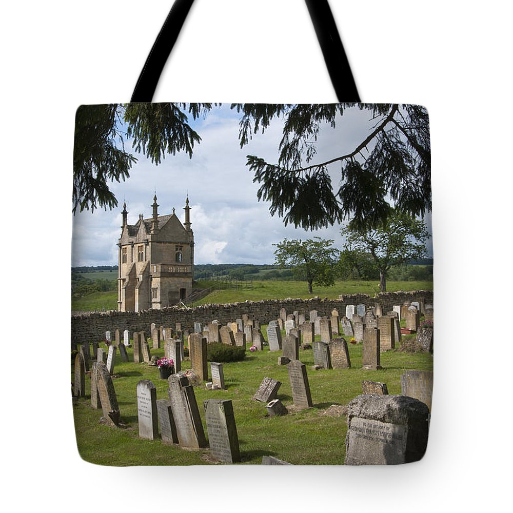 Campden Tote Bag featuring the photograph St James Church Graveyard by Andrew Michael