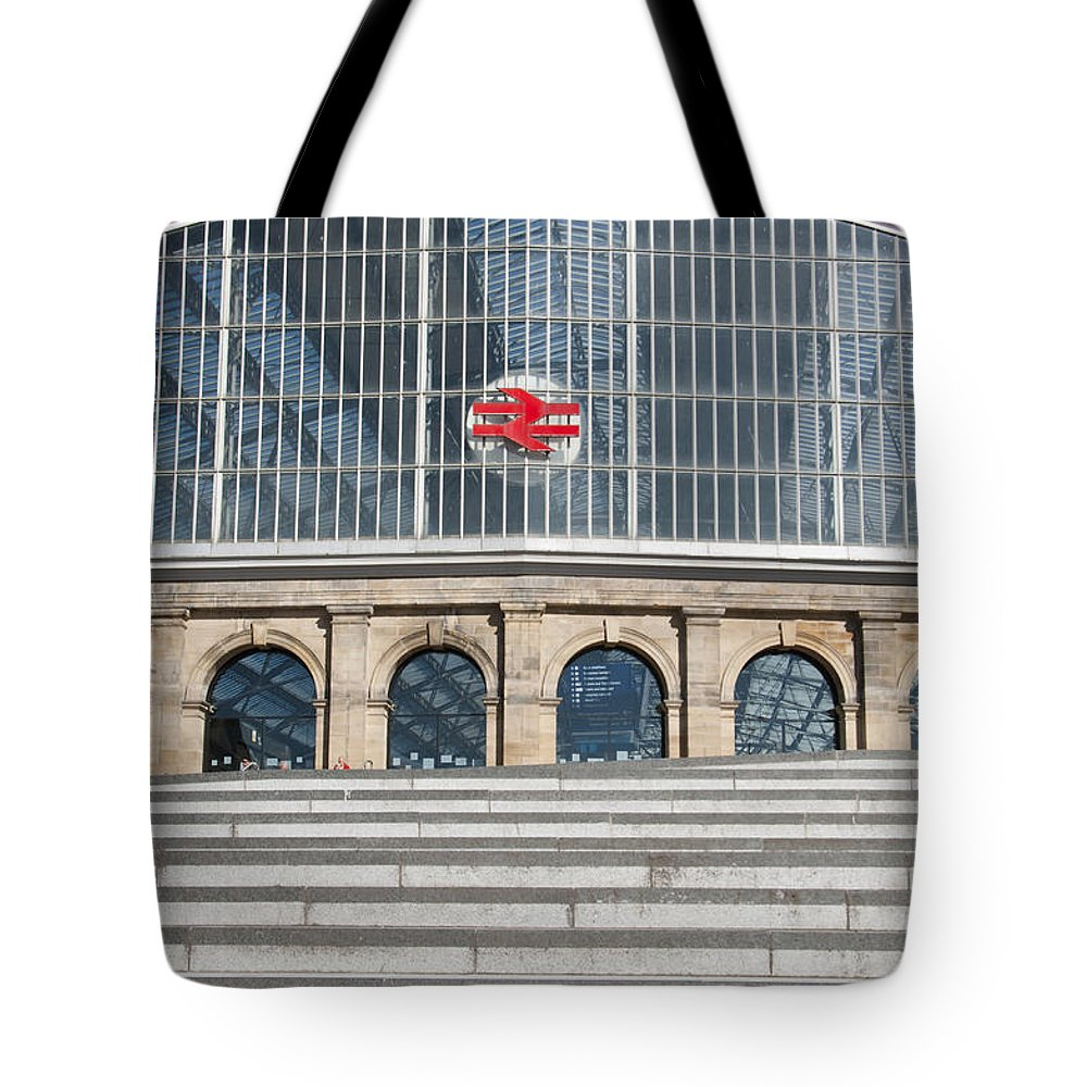 2011 Tote Bag featuring the photograph Station by Andrew Michael