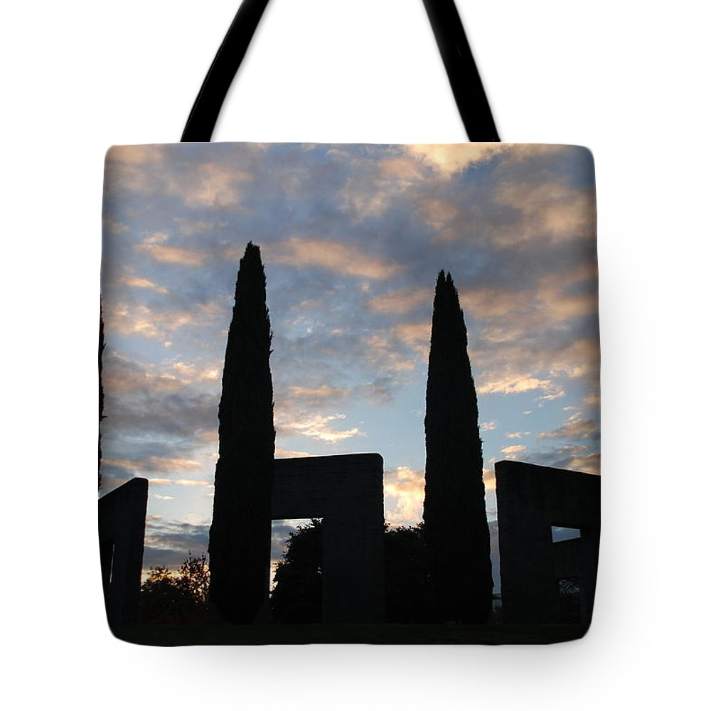 Stonehenge Tote Bag featuring the photograph Stonehenge by Michael Merry