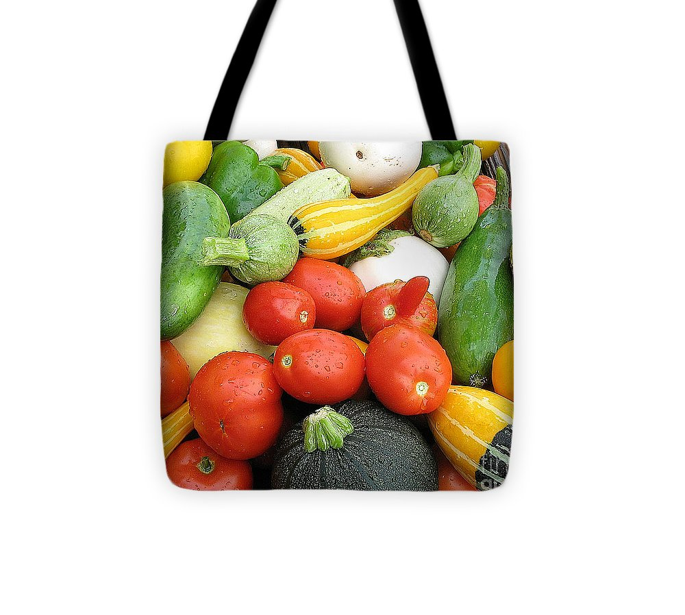 Summer Harvest Tote Bag featuring the photograph Summer Harvest by Jack Schultz
