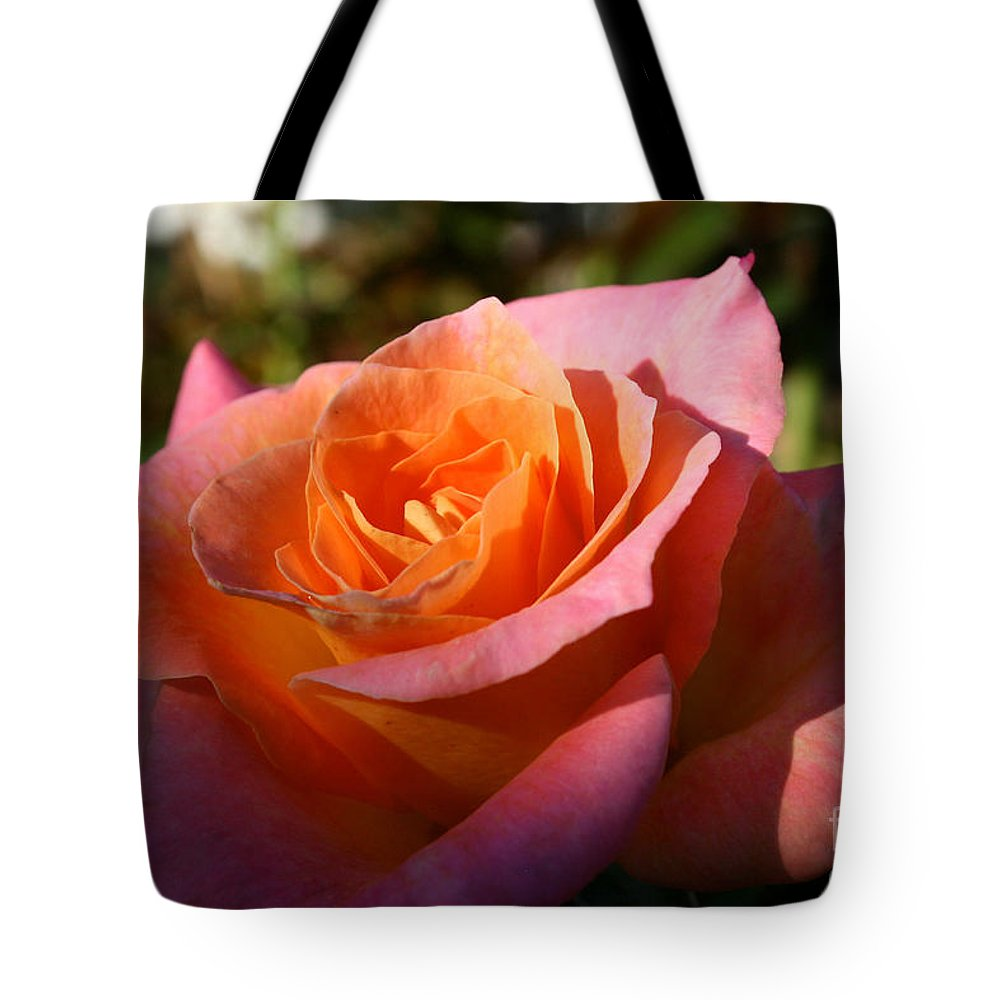Flower Tote Bag featuring the photograph Sunburst by Susan Herber