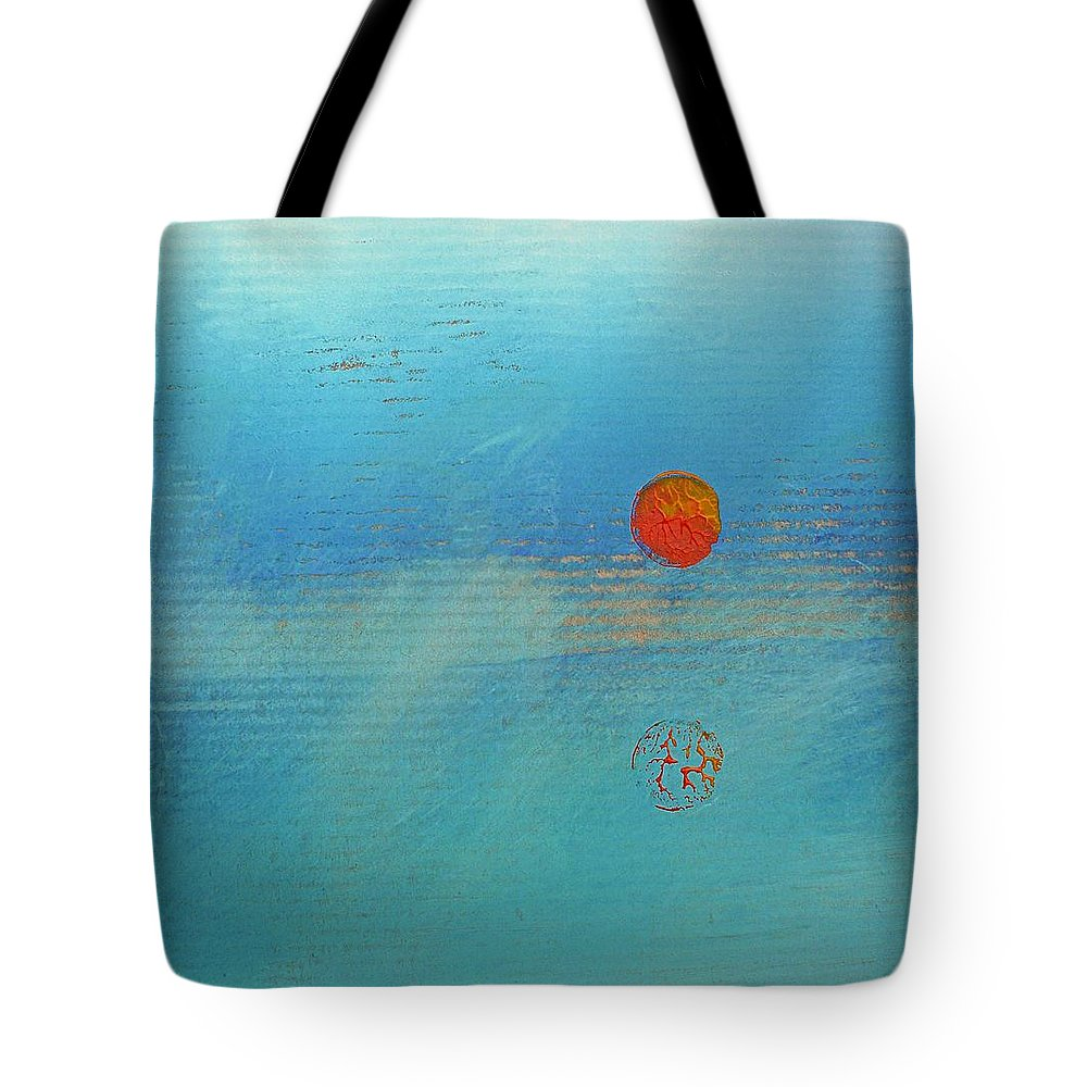 Turner Tote Bag featuring the painting Sundown by Charles Stuart