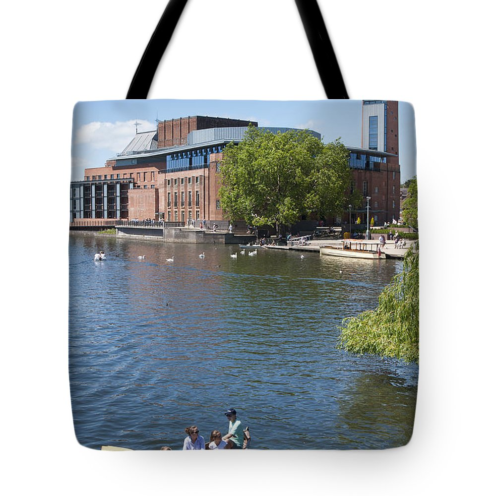 2011 Tote Bag featuring the photograph Swan Theatre by Andrew Michael