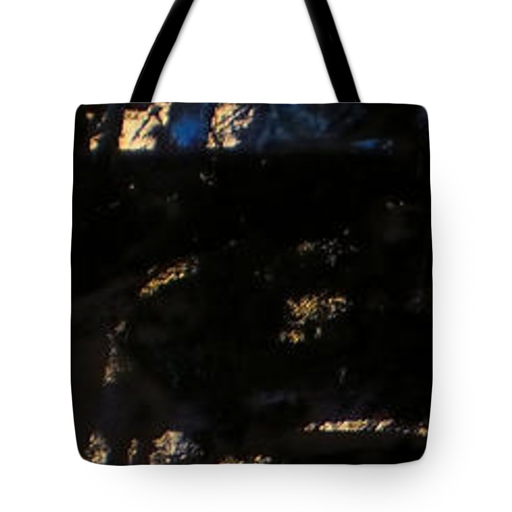 Tote Bag featuring the painting Symphony No. 8 Movement 11 Vladimir Vlahovic- Images Inspired By The Music Of Gustav Mahler by Vladimir Vlahovic