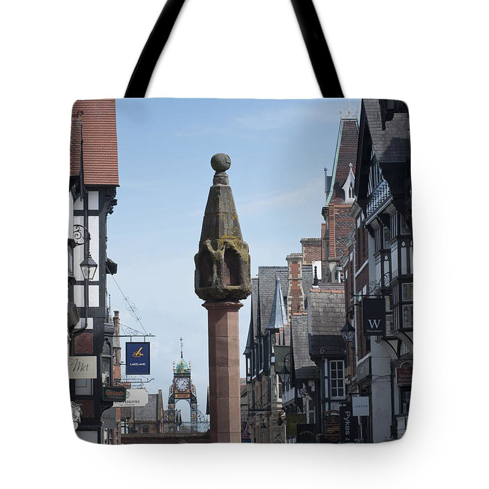 2011 Tote Bag featuring the photograph The Cross by Andrew Michael