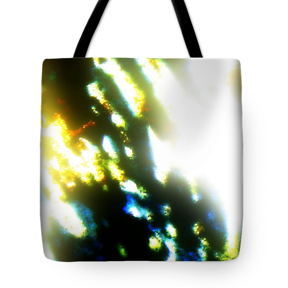 Abstract Canvas Prints Tote Bag featuring the photograph Together by Pauli Hyvonen
