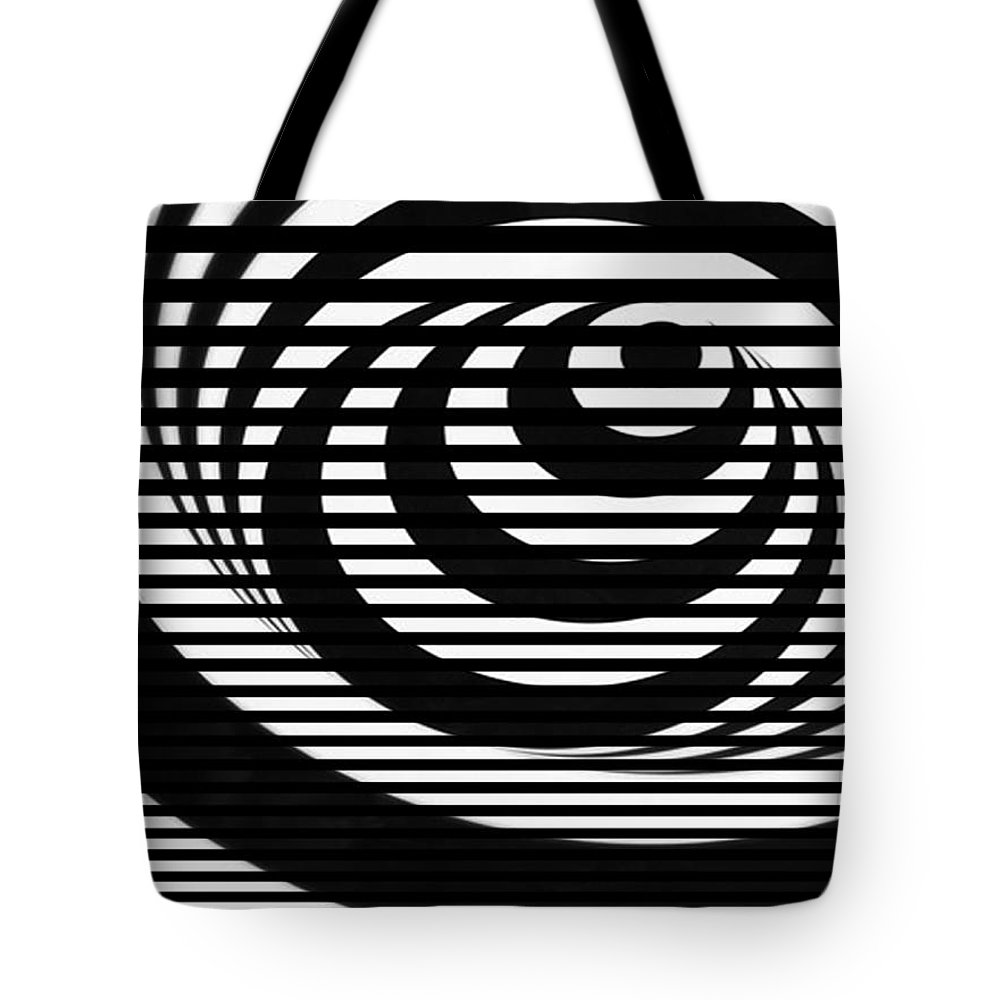 Jerry Cordeiro Tote Bag featuring the photograph Up Through by The Artist Project