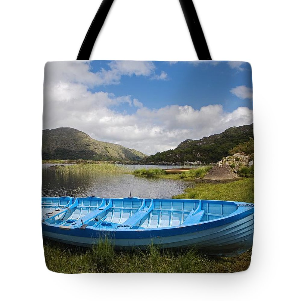 Biosphere Tote Bag featuring the photograph Upper Lake, Killarney National Park by Richard Cummins