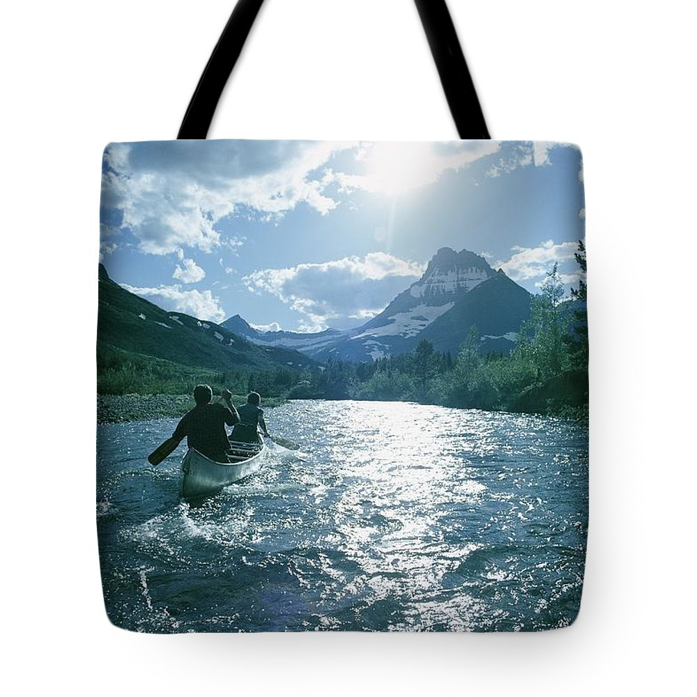 montana Tote Bag featuring the photograph Untitled by David Boyer