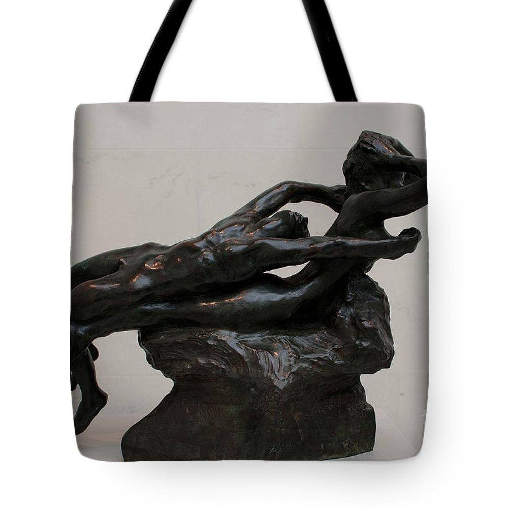 California Tote Bag featuring the digital art Legion Of Honor Museum San Francisco by Carol Ailles