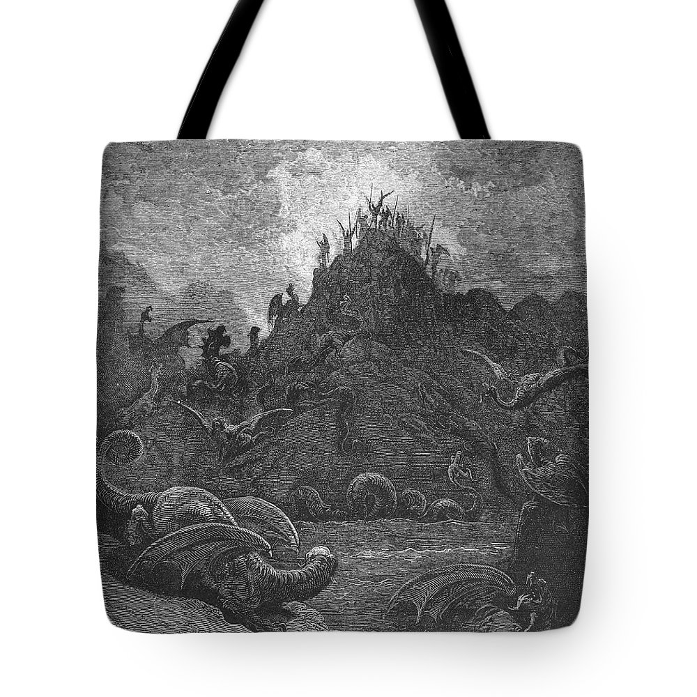 Book Tote Bag featuring the photograph Milton: Paradise Lost by Granger