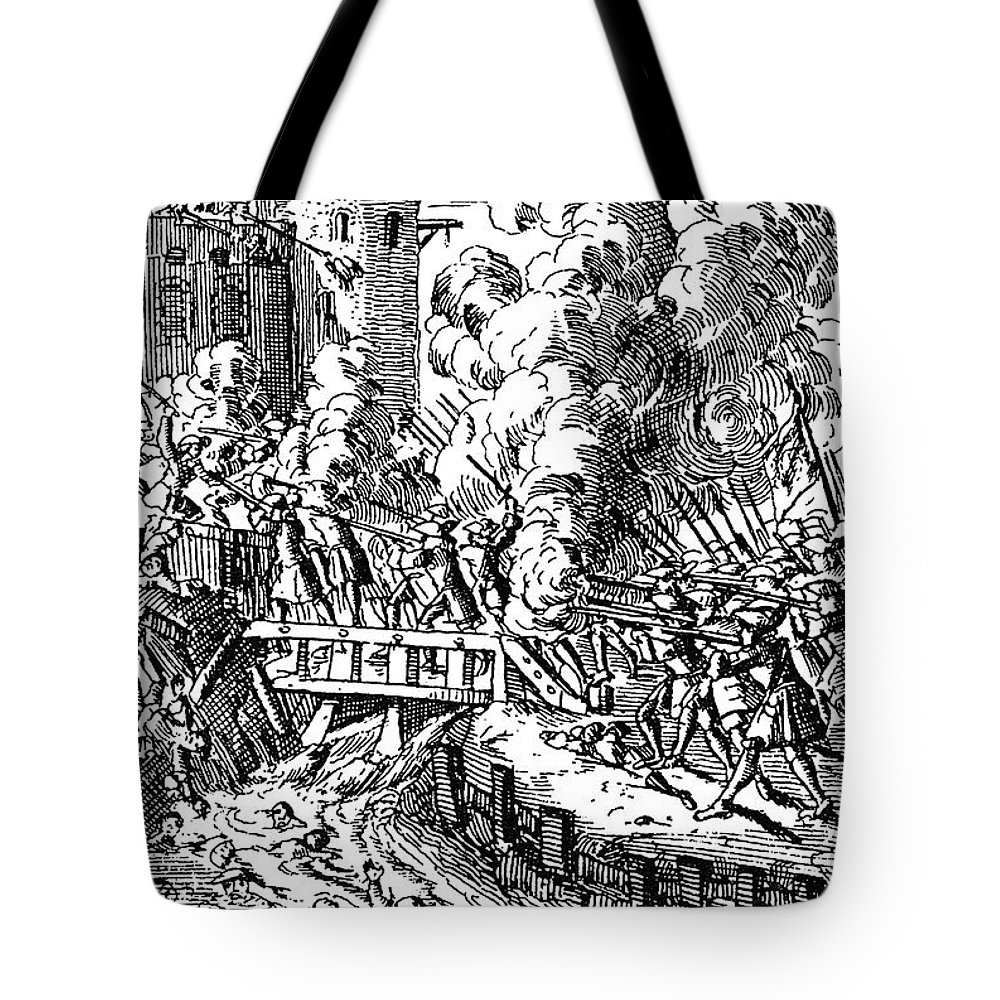 1702 Tote Bag featuring the photograph John Churchill (1650-1722) by Granger