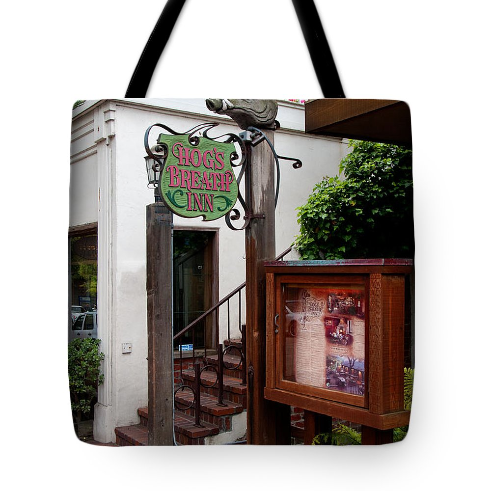 California Tote Bag featuring the digital art Carmel by Carol Ailles