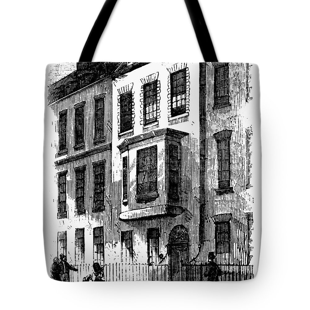 1760 Tote Bag featuring the photograph Benjamin Franklin (1706-1790) by Granger