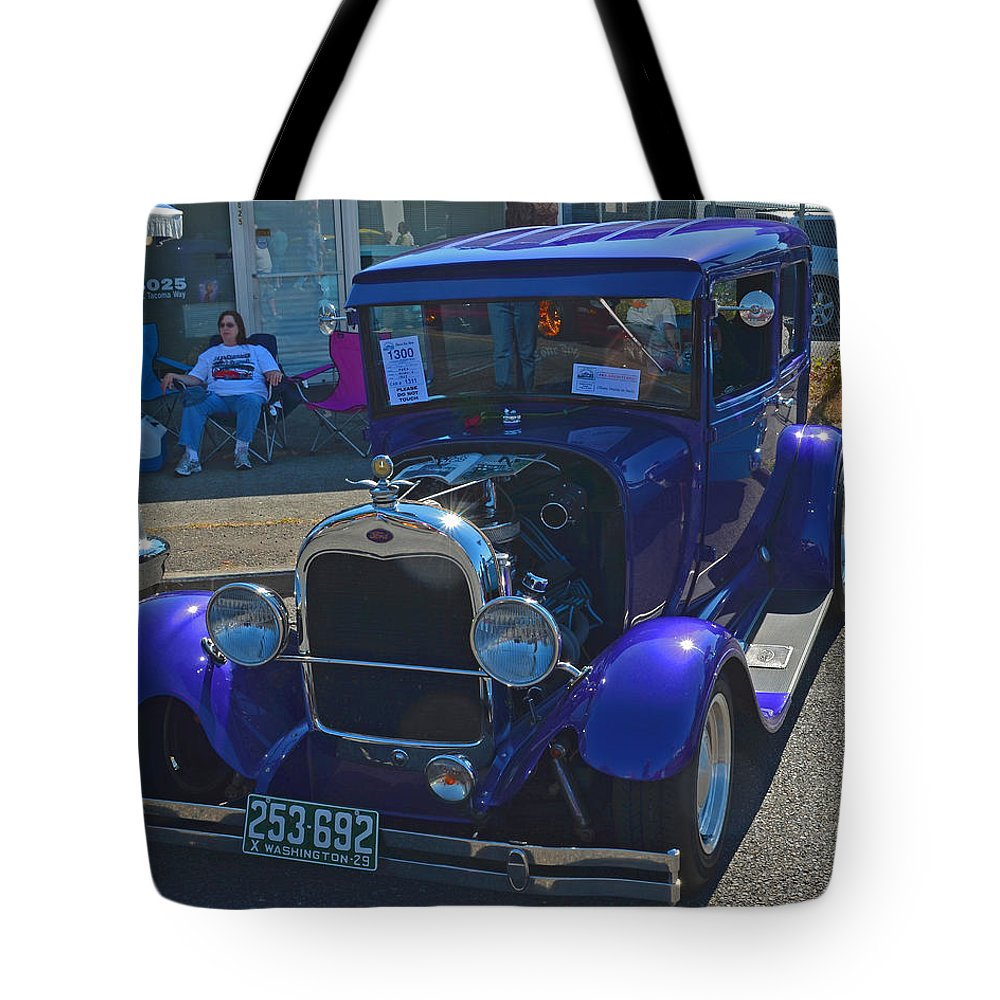 Ford Tote Bag featuring the photograph 1929 Ford Model A by Tikvah's Hope