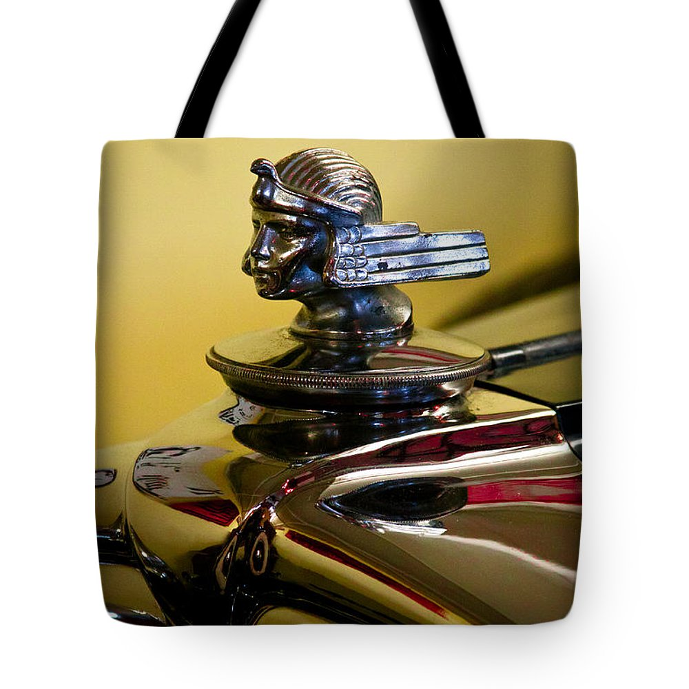 30 Tote Bag featuring the photograph 1930 Stutz 4 Door Sedan Sv 16 by David Patterson