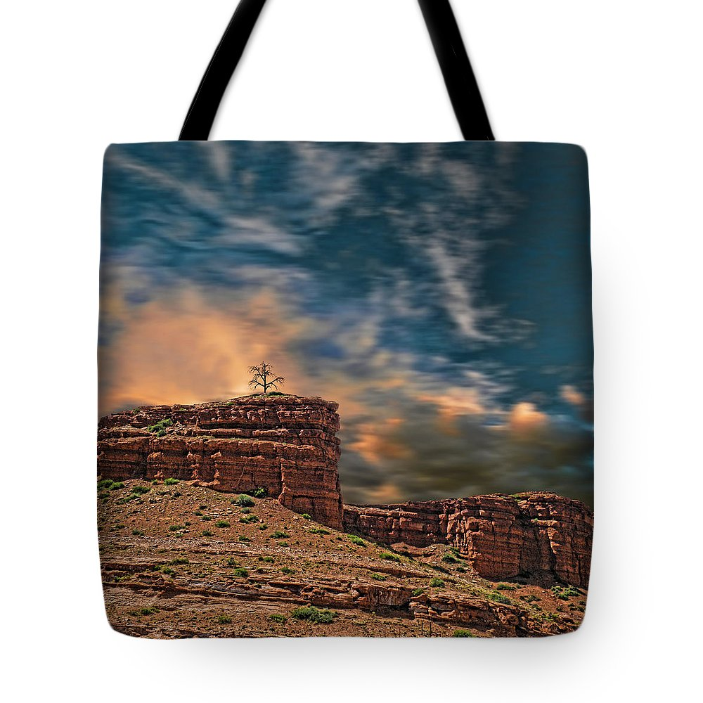 Rocks Tote Bag featuring the photograph 1944 by Peter Holme III