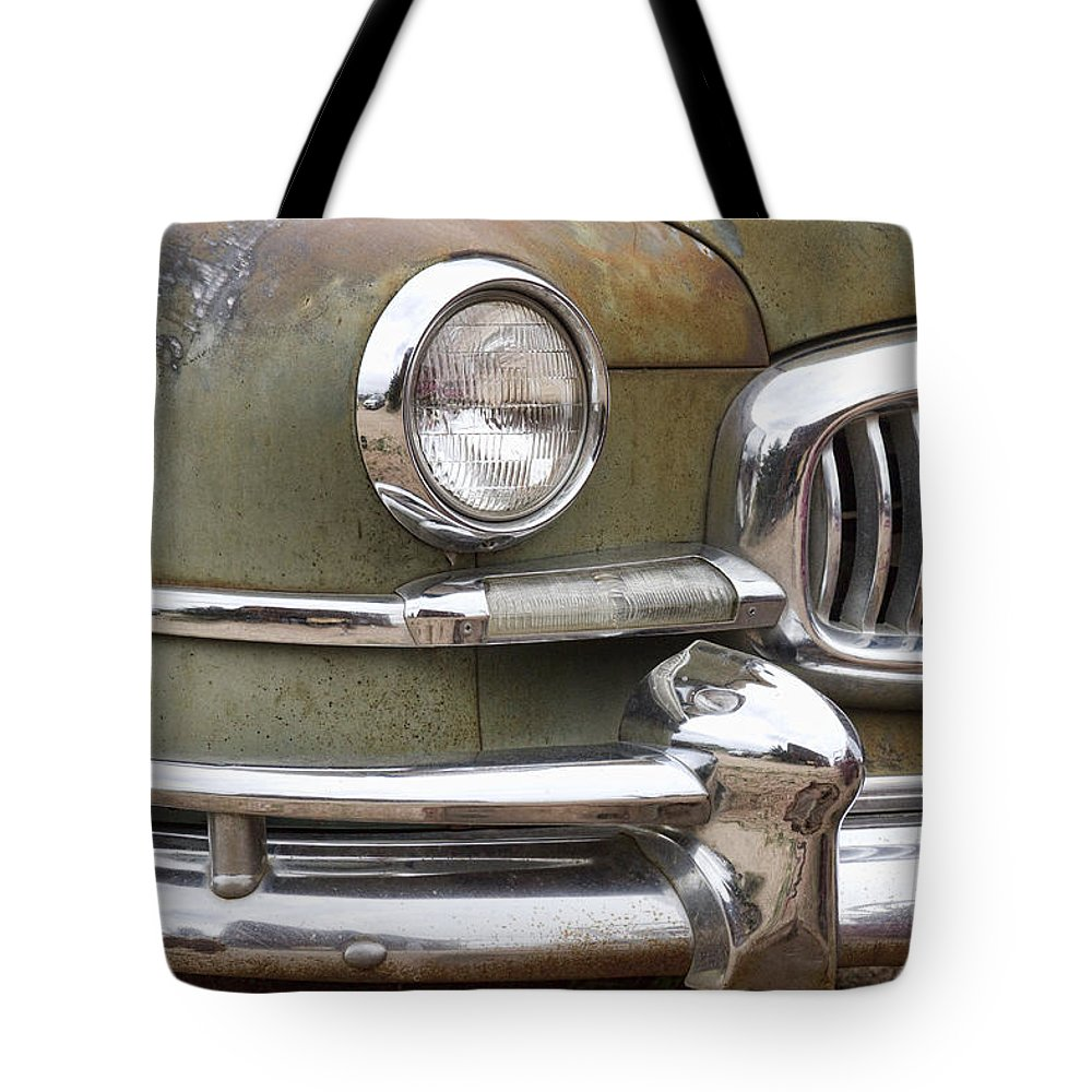 1951 Tote Bag featuring the photograph 1951 Nash Ambassador by James BO Insogna