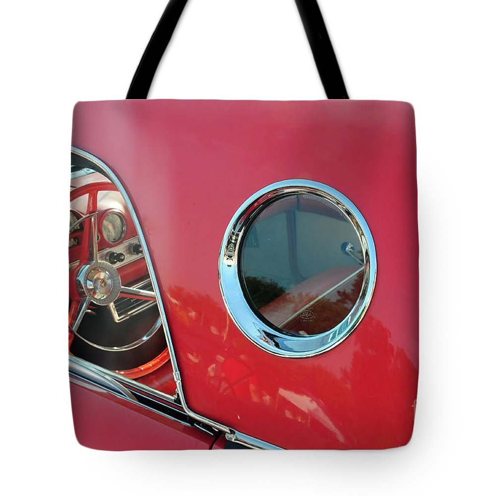 1957 Ford Thunderbird Tote Bag featuring the photograph 1957 Ford Thunderbird by Paul Ward