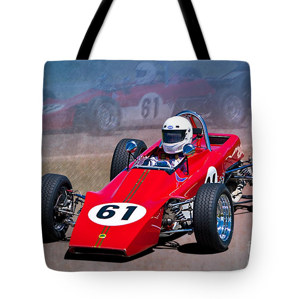 1969 Lotus 61 Formula Ford Tote Bag for Sale by Stuart Row