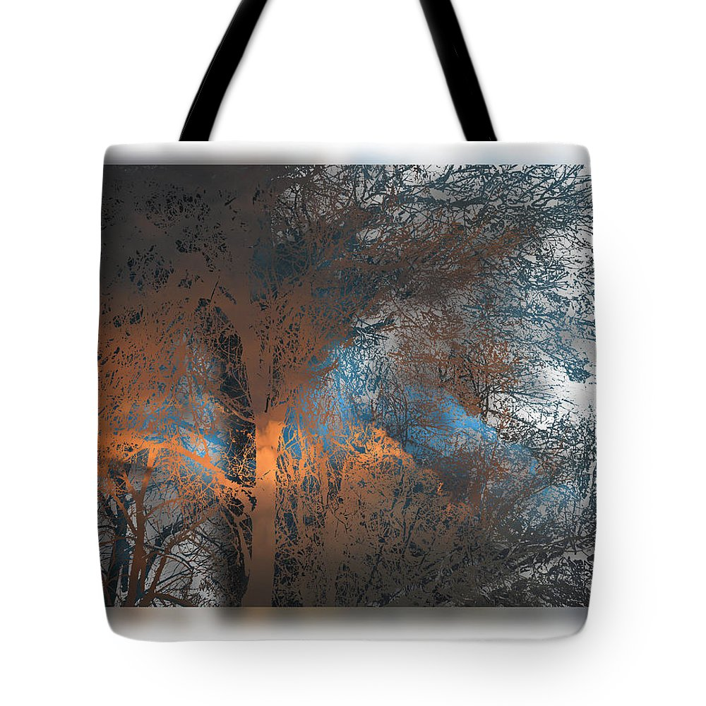 Trees Tote Bag featuring the photograph 1972 by Peter Holme III