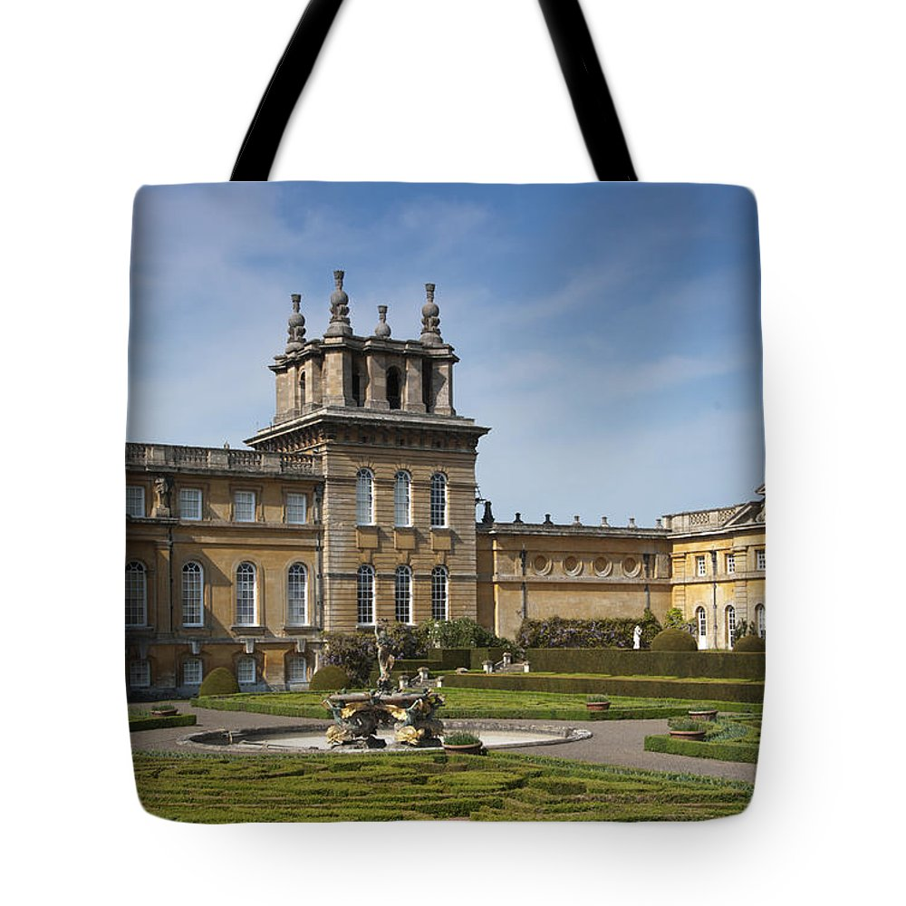 2011 Tote Bag featuring the photograph Blenheim Palace by Andrew Michael