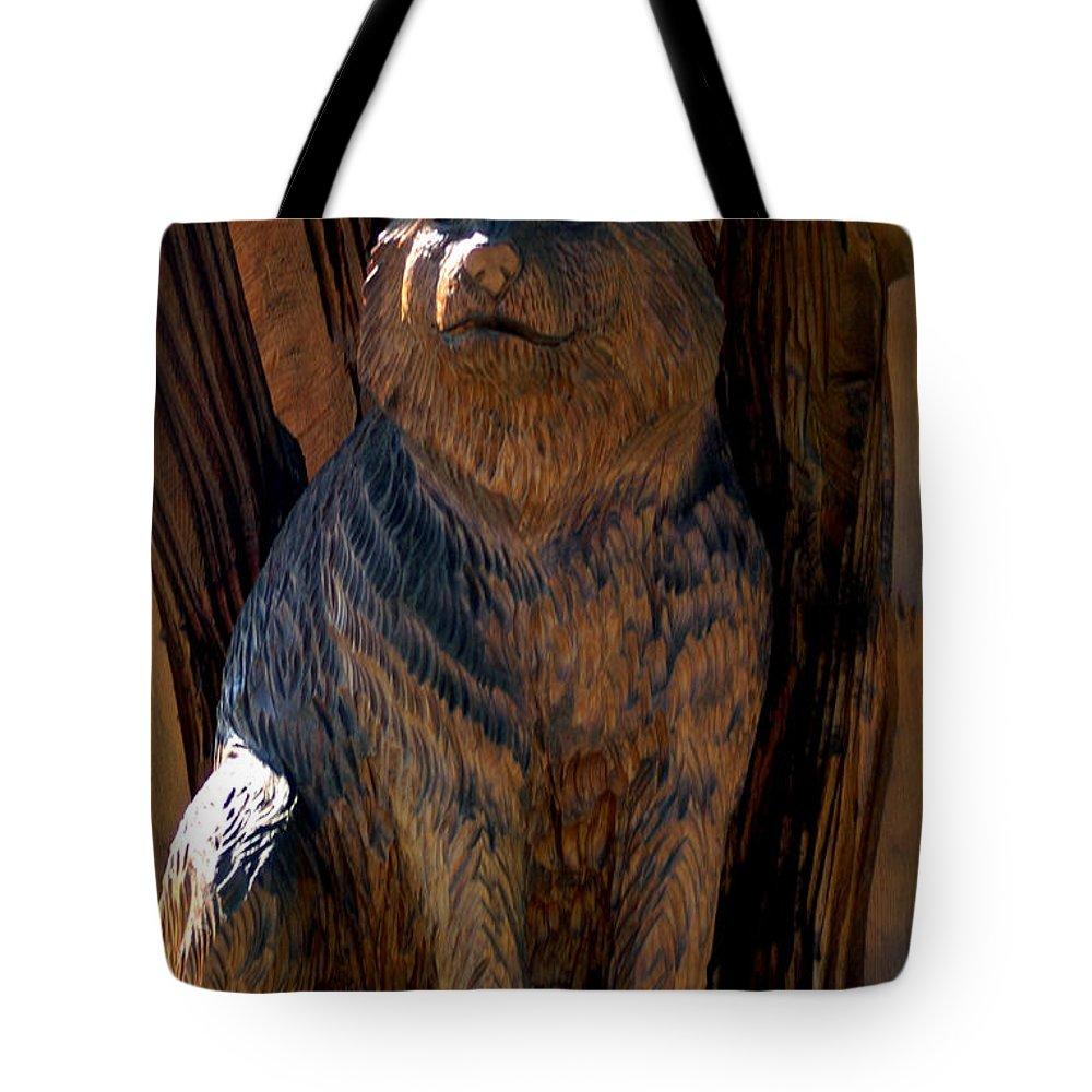 Bobcat Tote Bag featuring the photograph Bobcat by LeeAnn McLaneGoetz McLaneGoetzStudioLLCcom
