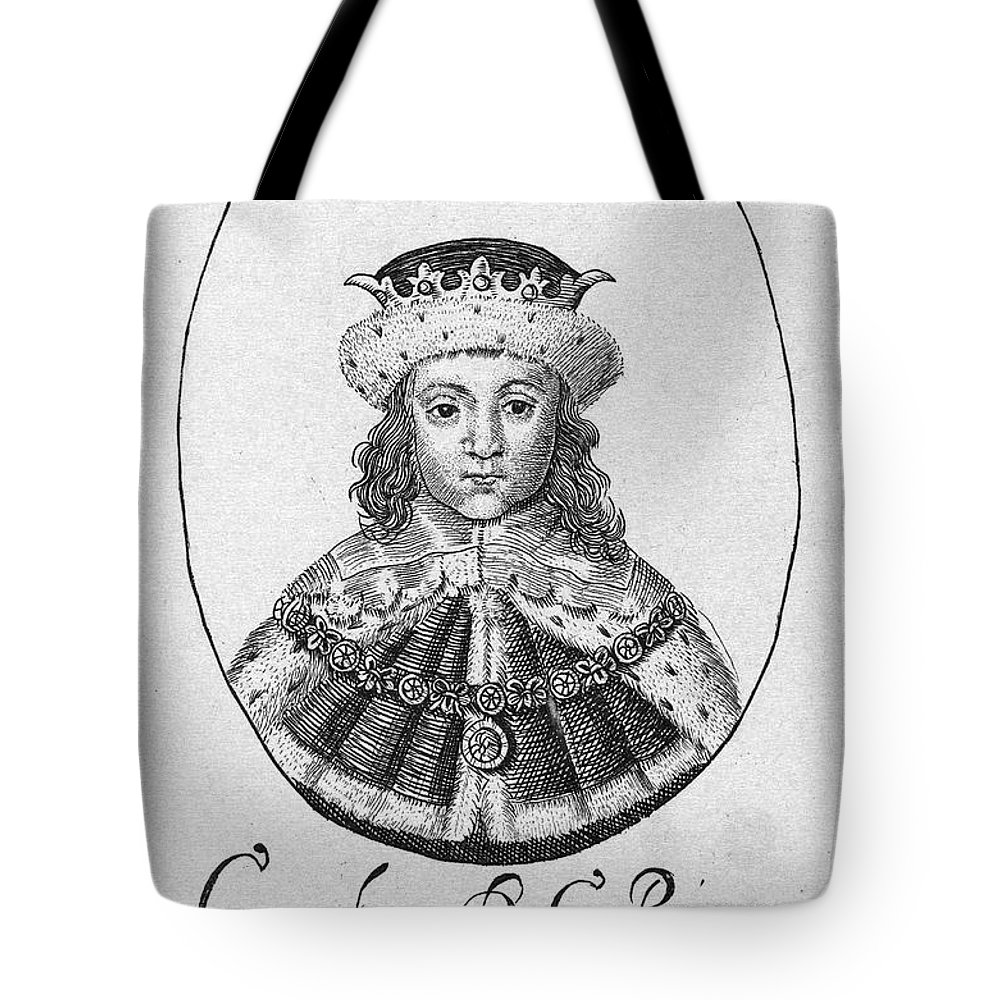 1610 Tote Bag featuring the photograph Charles I (1600-1649) by Granger