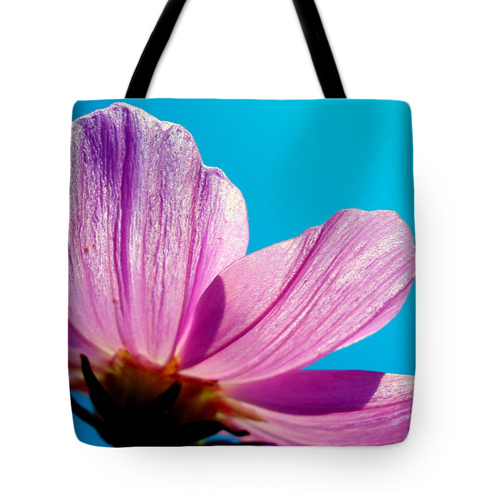 Flower Tote Bag featuring the photograph Cosmia Flower by Sumit Mehndiratta